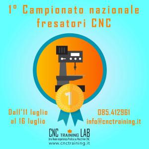 Campionato Nazionale Fresatori CNC 2016 Spoltore Pescara