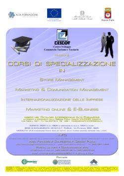 Corsi di Specializzazione Cescot Bari - Puglia