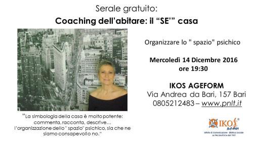 Coaching dell'abitare Bari 2016