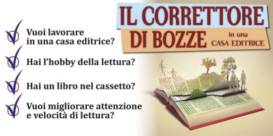 Correttore bozze casa editrice Lecce 2016 2017