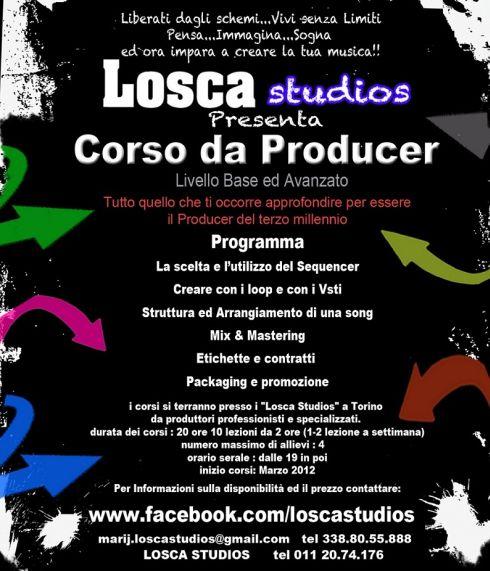 Corsi da Producer Torino