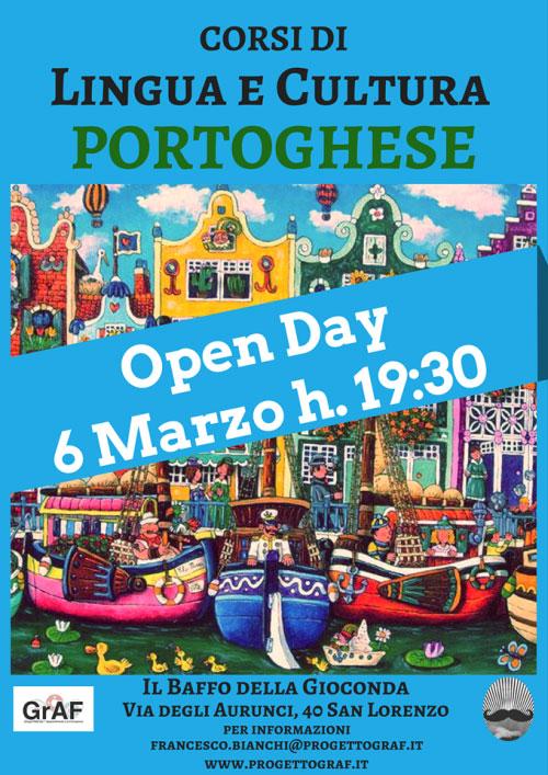 Corsi lingua cultura portoghese Roma 2017