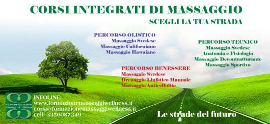 Corsi massaggio Roma 2017