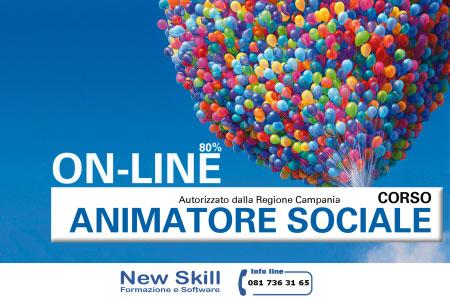 Corso animatore sociale Napoli online 2017