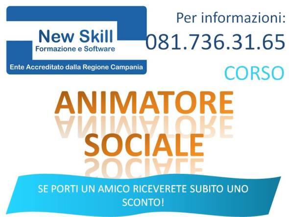 Corso Animatore Sociale Napoli