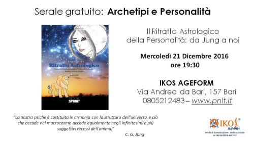 Corso Archetipi e Personalità Bari 2016