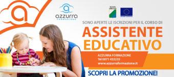 Corso Assistente Educativo Regione Abruzzo 2016 Chieti