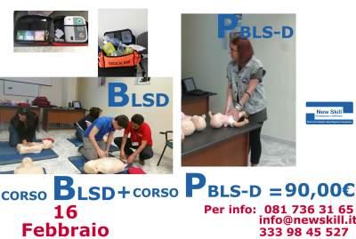 Corso BLSD e PBLSD Napoli 2016