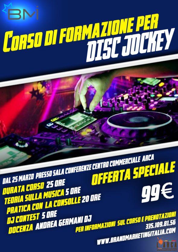 Corso DJ Disc Jockey Pescara