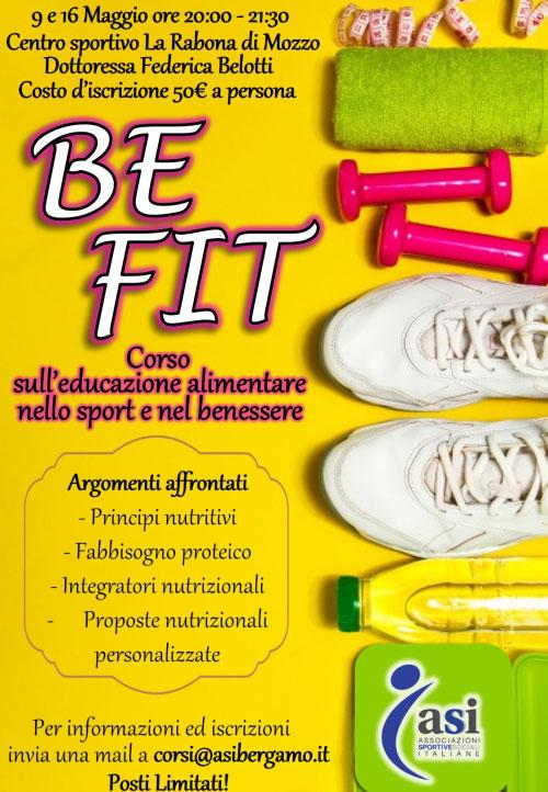 Corso alimentazione sport e nel benessere Mozzo (Bergamo)