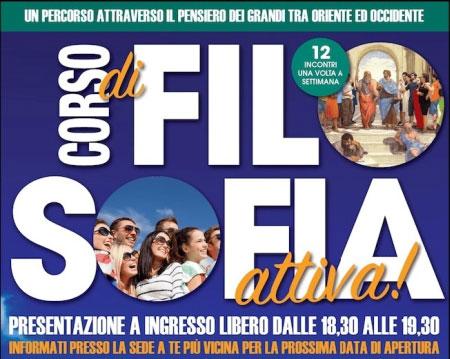 Corso filosofia attiva Milano 2017