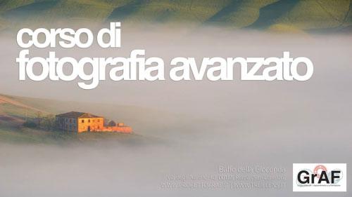 Corso di fotografia avanzato Roma 2017