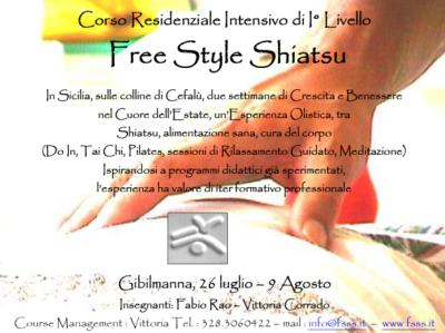 Corso intensivo shiatsu 1° livello a Cefalù (Palermo)