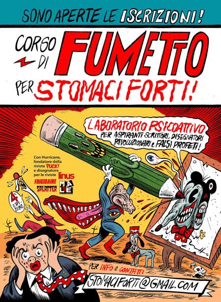 Corso Fumetto Stomaci Forti Milano 2017