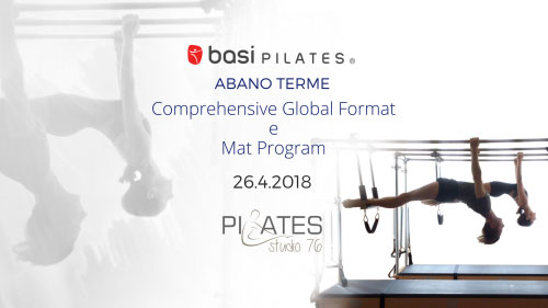 Corso insegnanti pilates Abano Terme Padova 2018