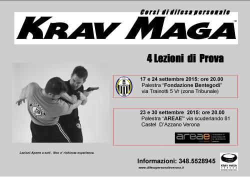 Corso Krav Maga Verona 2015