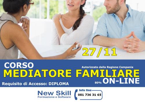 Corso Mediatore Familiare Napoli online 2017 2018