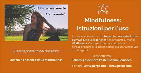 Corso Mindfulness Senna Comasco Como 2016