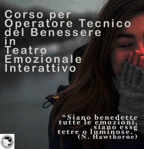 corso per operatore tecnico del benessere in teatro emozionale interattivo, Gessate (MI) 2018
