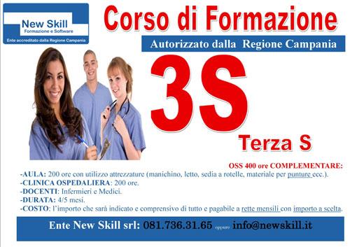 Corso OSSS Napoli autorizzato Regione Campania
