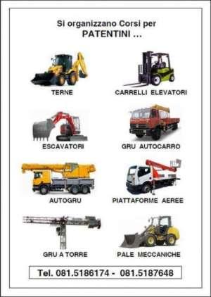 Corso Patentino Carrello Elevatore Salerno