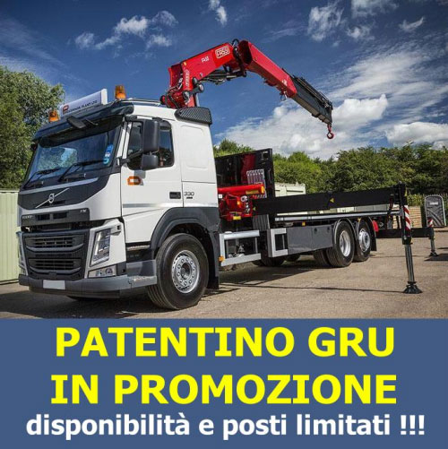 Corso patentino gru Pagani Salerno