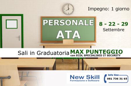 Corso personale ATA Napoli 2017