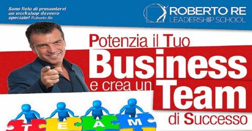 Corso potenzia business e crea team di successo Brescia 2017