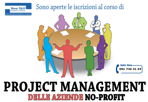 Corso project management aziende no profit Napoli 2017