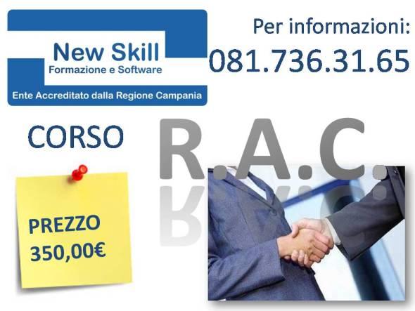Corso RAC Napoli Agente e Rappresentante di Commercio