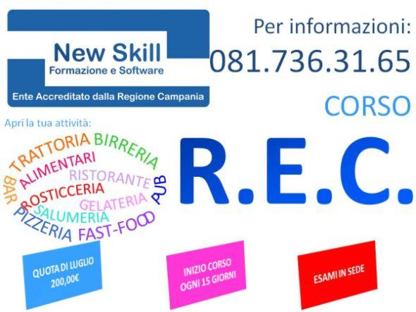 Corso Rec Napoli Requisito Professionale Commercio