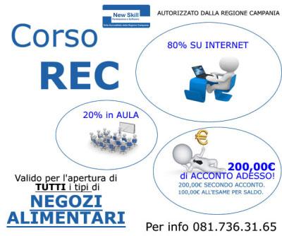 Corso REC SAB Napoli 2016
