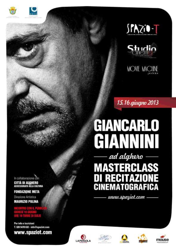 Corso recitazione cinematograficoa Giancarlo Giannini Alghero (SS)