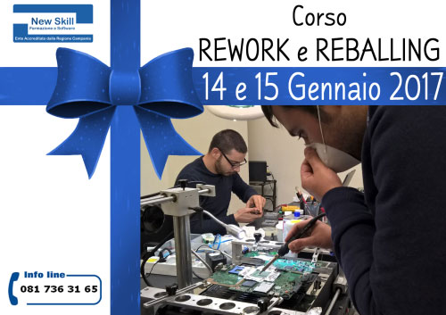 Corso Rework Reballing Napoli 2017