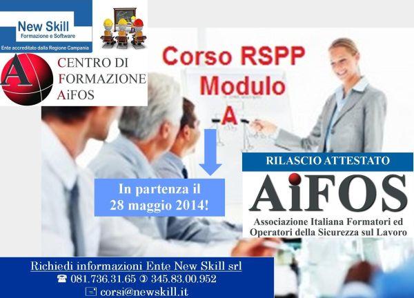 Corso RSPP Modulo A Napoli