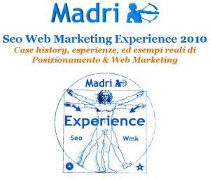 Corso Madri Seo Web Marketing Experience 2010