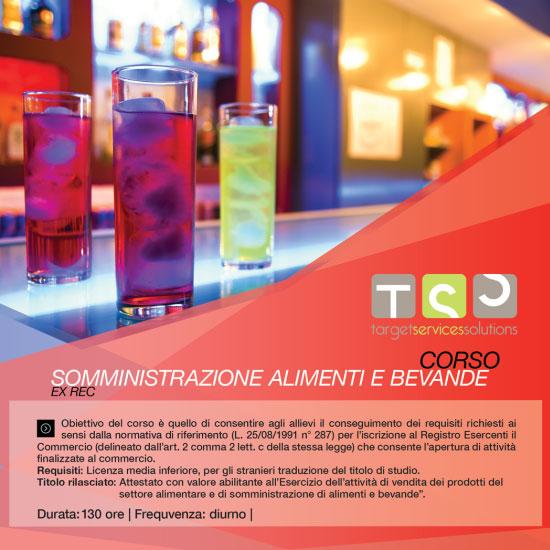 Corso EX REC Somministrazione alimenti e bevande Varese 2017