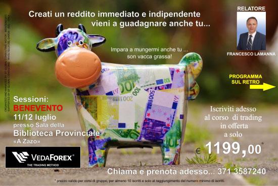 Corso trading online Benevento 2017