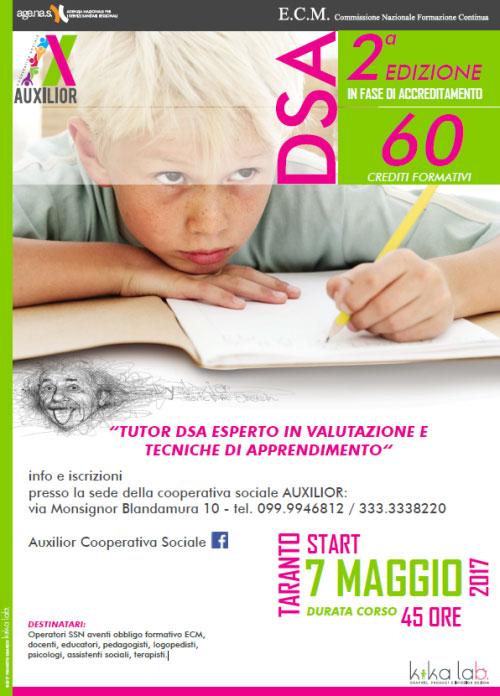 Corso Tutor DSA Taranto 2017