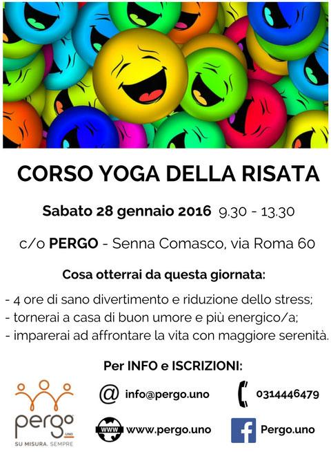 Corso Yoga della risata Senna Comasco Como 2017