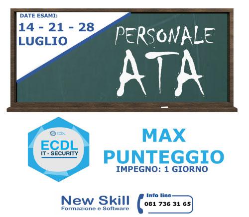 Corso ECDL personale ATA Napoli 2017