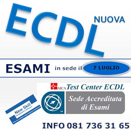 Esami Nuova ECDL Napoli 7 luglio 2016