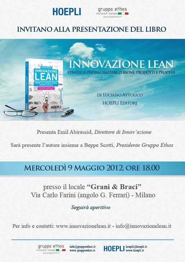 Innovazione Lean di Luciano Attolico, libro Hoepli