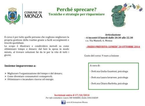 Monza Tecniche e Strategie per Risparmiare