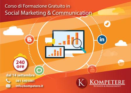 Corso Social Marketing & Communication Casoria Napoli 2017