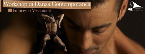 Workshop Danza Contemporanea Napoli 2017 Francesco Vecchione