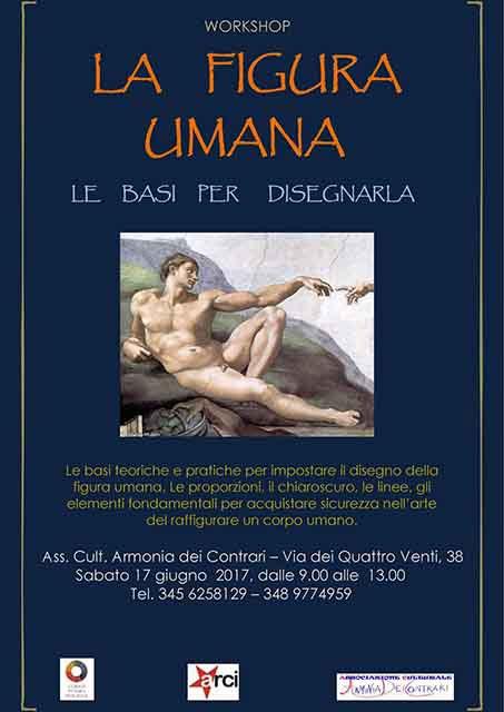 Workshop La figura umana Roma 2017