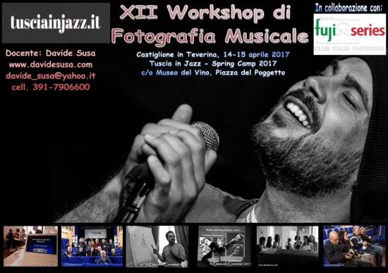 Workshop Fotografia Musicale Castiglione in Teverina (Viterbo) 2017