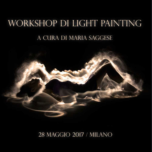 Workshop Light Painting Milano 2017